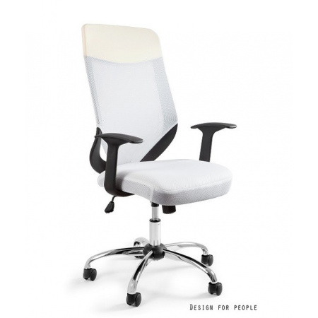 Unique Mobi Plus Fotel biurowy biały W-952-0