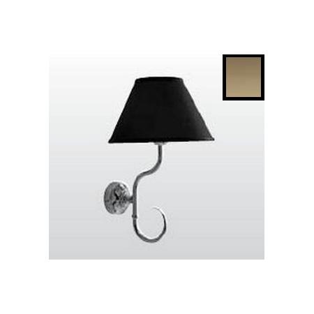 Kerasan Retro Lampa wisząca, czarna/brązowa 7367K3