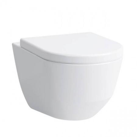 Laufen Pro Toaleta WC podwieszana 49x36 cm Rimless bez kołnierza, biała H8209650000001