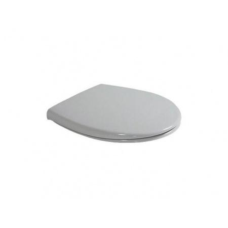 Duravit Duraplus Deska sedesowa zwykła, zawiasy z tworzywa sztucznego - Biały (Alpin) (0066300000)