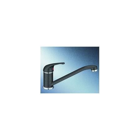 Blanco Vitis Silgranit-Look Jednouchwytowa bateria kuchenna stojąca, czarna antracyt 515366