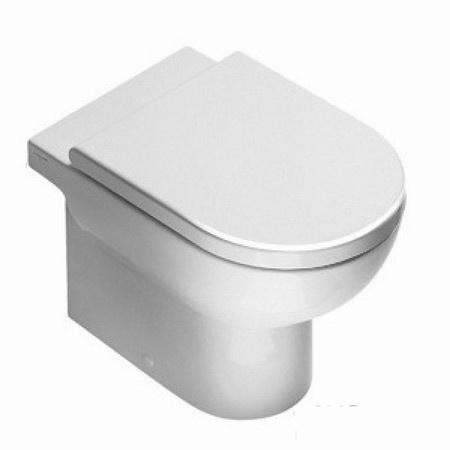 Catalano Sfera Zestaw Miska WC stojąca 54x35 cm i deska wolnoopadająca, biała 1VPS5400+5SCSTF00