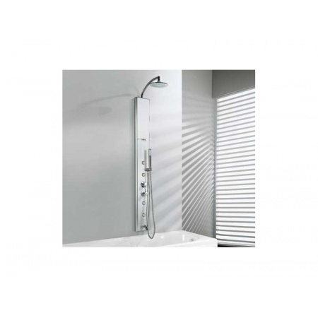Novellini THINK 2 Panel prysznicowy - wannowy Z mieszaczem THINKN2VME-B