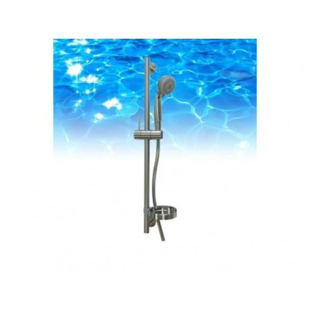 Omnires Omnires Zestaw prysznicowy suwany Nikiel Chromowany (R07-L NI)