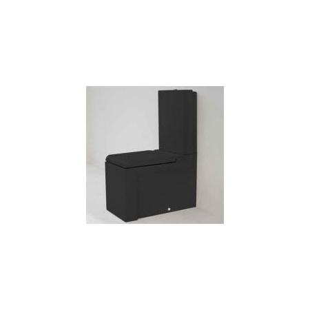 Art Ceram La Fontana Miska WC kompaktowa 36x65 cm, czarna LFV00303;00