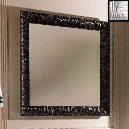 Kerasan Retro Lustro łazienkowe 100x100 cm, srebrna rama 736402