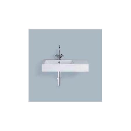 Alape umywalka emaliowana WT.PR800H.L biała z powłoką Easy-Care wymiary 135 x 800 x 405 nr kat. 4205000400