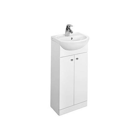Koło Solo Szafka podumywalkowa z umywalką 39x22x81 cm, biała 79001000