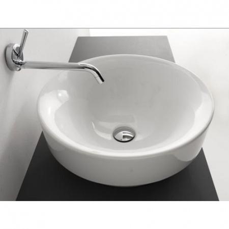 Kerasan Cento Umywalka nablatowa 45x45 cm biała 3557