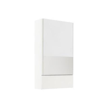 Koło Nova Pro Szafka wisząca z lustrem 49,3x85x17,6cm, biały połysk 88431