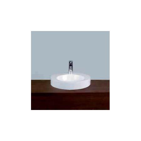 Alape AB.K400H.1 Umywalka nablatowa 40 cm emaliowana biała 3005000000