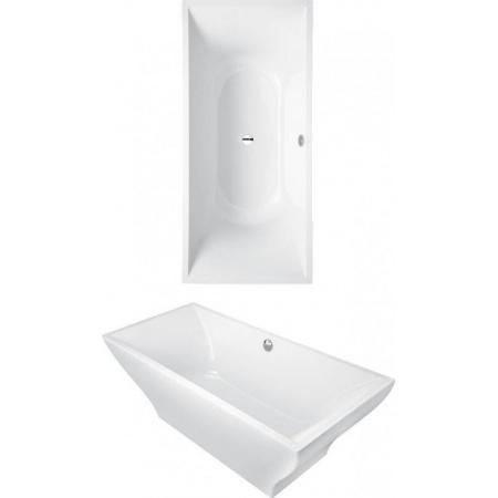 Villeroy & Boch La Belle Duo Wanna wolnostojąca 180x80 cm, biała Weiss Alpin UBQ180LAB2PDV-01