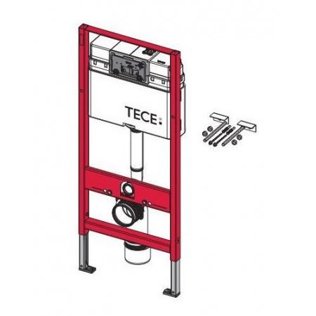 Tece Base Stelaż podtynkowy do WC ze spłuczką podtynkową uruchamianą z przodu, 9.400.007