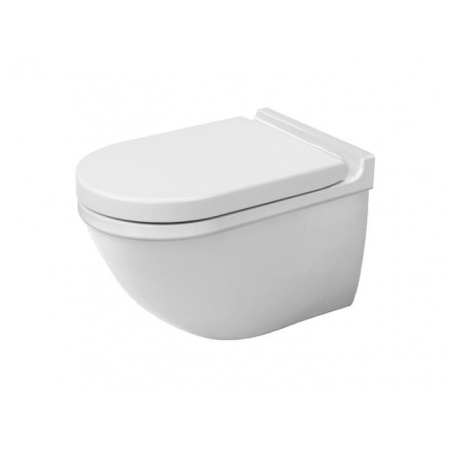 Duravit Starck 3 Miska WC podwieszana 37x62 cm, lejowa, biała 2226090000