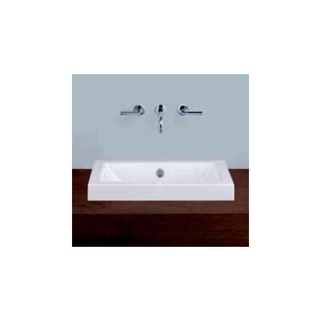 Alape umywalka emaliowana AB.R585.1 biała z powłoką Easy-Care wymiary 135 x 585 x 347 nr kat. 3205100400