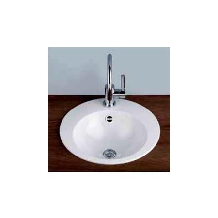 Alape EB.K450 Umywalka wpuszczana w blat 45 cm emaliowana biała 2002000401