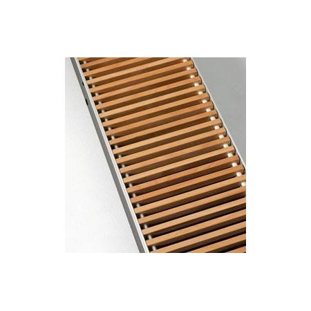 Jaga Mini Canal grzejnik typ 14 wys. 90mm szer. 1900mm kratka drewniana kolor dąb (MICA. 009 190 14/DON)