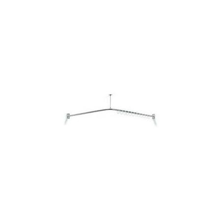 Koło wieszak zasłony prysznicowej LEHNEN EVOLUTION 90 cm (L33101001)