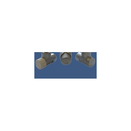 Schlosser Zestaw łazienkowy LUX GZ 1/2x złączka 16x2 PEX - kątowy satyna (603700037)