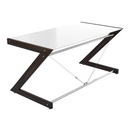 Unique Soft-Line Main Desk Biurko 152x76 cm, białe 816-01-W-W