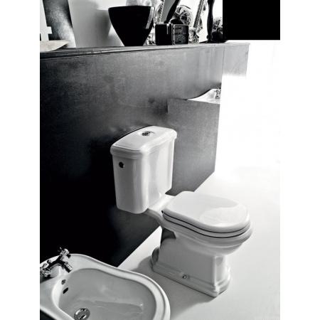 Kerasan Retro Spłuczka do kompaktu WC, czarna 108204