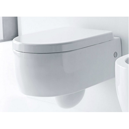 Kerasan Flo Toaleta WC podwieszana 36x50 cm, biała 3115