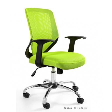 Unique Mobi Fotel biurowy, zielone W-95-9