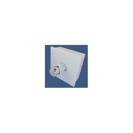 Schlosser RTL kasetowy ogranicznik temperatury G3/4 biały-chrom 6032 00032