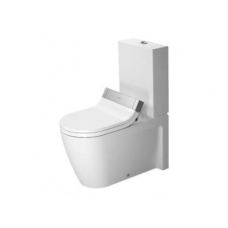 Duravit Starck 2 Miska toaletowa lejowa 37x72,5 cm z elementami przyłączeniowymi do SensoWash, z powłoką WonderGliss (21295900001)