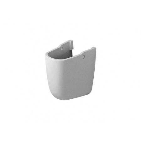 Duravit Duraplus Półpostument 20x24 cmz powłoką WonderGliss - Biały (Alpin) (08633200001)