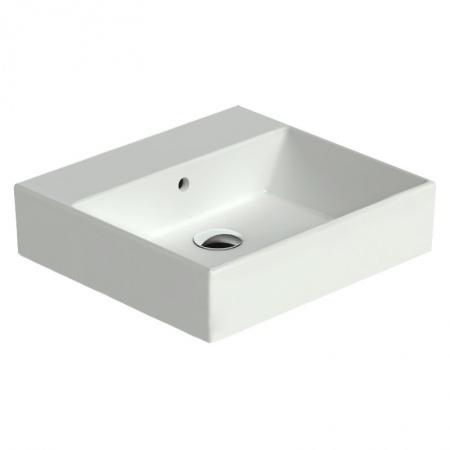Catalano Premium Umywalka prostokątna 55x37 cm z powłoką CataGlaze, biała 155VP00 / 55VP