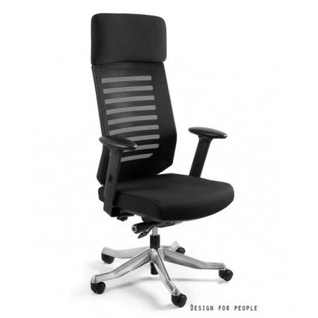 Unique Velo Fotel biurowy, czarny W-899Y