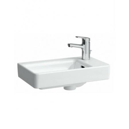 Laufen Pro Umywalka ścienna 48x28cm z otworem na baterię po prawej stronie, biała H8159540001041
