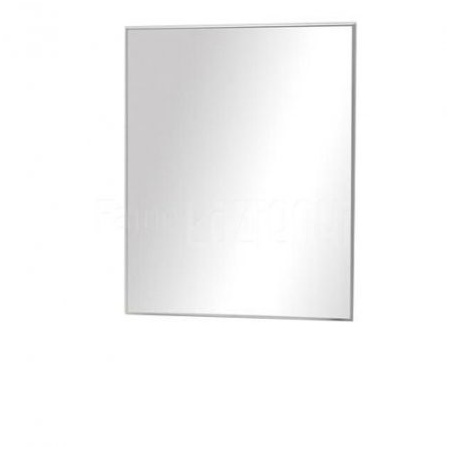 Antado Akcesoria łazienkowe Lustro Aluminium białe ALB-60x65