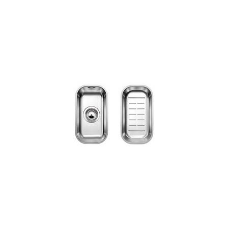 Blanco Supra 180-U Zlewozmywak stalowy jednokomorowy 20,1x36,1 cm bez korka automatycznego stal szczotkowana 518198