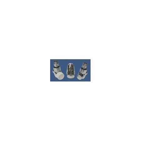 Schlosser Exclusive zestaw łazienkowy GZ ½ x złączka 15x1 Stal osiowo lewy chrom 601700154
