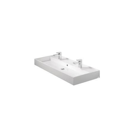 TIGER Items umywalka podwójna 105 cm biała 59370.01
