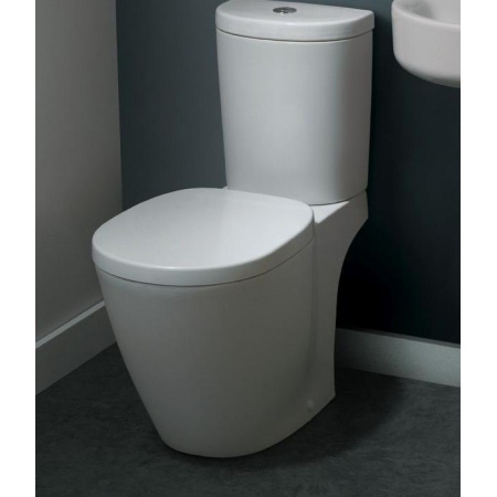 Ideal Standard Connect Miska WC kompaktowa 36x66,5x78 cm odpływ poziomy, biały E803601