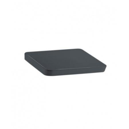 Laufen Alessi Dot Deska wolnoopadająca, czarna matowa H8929023160001