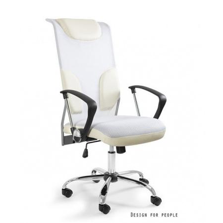 Unique Thunder Fotel biurowy, biały W-58-0