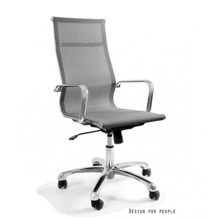 Unique Drafty Fotel biurowy, szary WX-14A-8