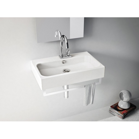 Art Ceram Block umywalka stawiana na blat 65x41 biała L6720 / BKL00101;00