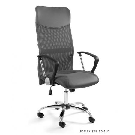Unique Viper Fotel biurowy, szary W-03-8