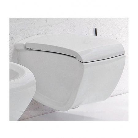 Hidra Hi Line Miska WC wisząca z deską wolnoopadającą, biała HIW10+HIZ
