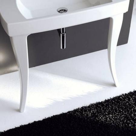 Artceram Jazz Postumenty do umywalki, białe JZ22 / JZC00201;00
