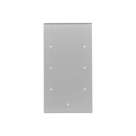 Berker TS Sensor Włącznik szklany dotykowy 3-krotny, aluminium 168307