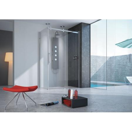 Sanplast Altus KND2/ALTII Kabina prysznicowa narożna 80x110-120 cm, chrom 600-121-0810-42-401