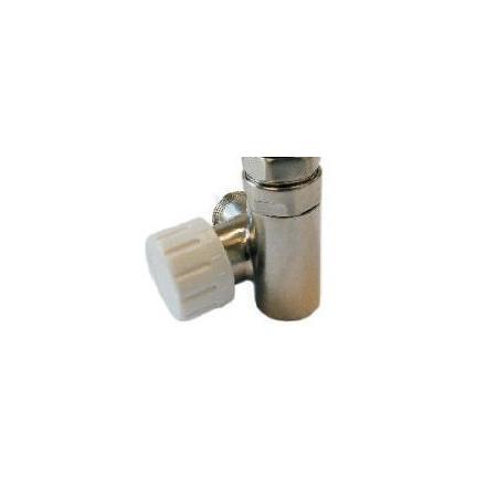 Schlosser Zawór termostatyczny do grzałki elektrycznej - prawy stal ze złączką PEX (604900020)