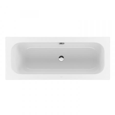 Villeroy & Boch Loop & Friends Square Duo Wanna prostokątna o prostokątnej formie wewnętrznej 170x75 cm, biała Weiss Alpin UBA170LFS2V-01