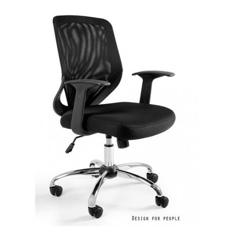 Unique Mobi Fotel biurowy, czarny W-95-4